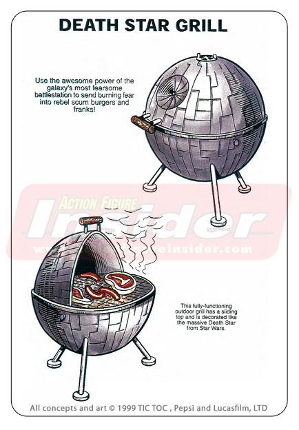 A churrasqueira da Estrela da Morte