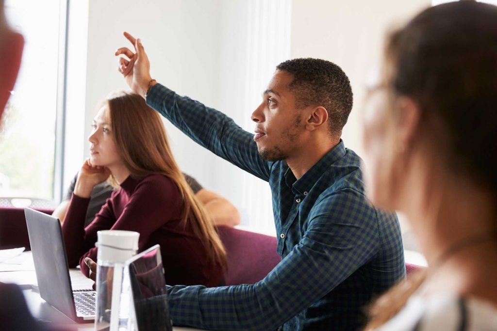 Continuing Education with Raised Hand