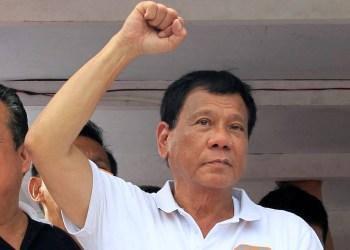 Ο πρόεδρος των Φιλιππίνων, Ροντρίγκο Ντουτέρτε