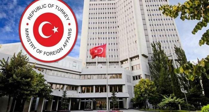 Το τουρκικό υπουργείο Εξωτερικών