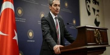 Ο Εκπρόσωπος Τύπου του τουρκικού υπουργείου Εξωτερικών Χαμί Ακσόι