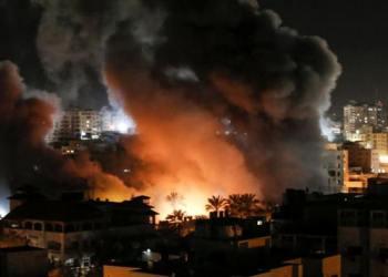 Αεροπορικός βομβαρδισμός στη Λωρίδα της Γάζας