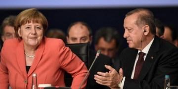 Συνάντηση Μέρκελ-Ερντογάν στο Βερολίνο 1