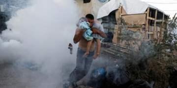 Φωτιά στο ΚΥΤ της Μόριας: Νεκρό ένα παιδί! 1