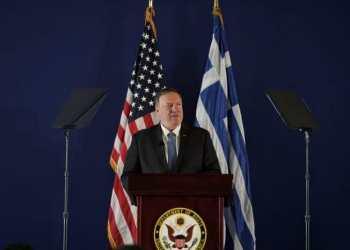 Speech by Mike Pompeo at Stavros Niarchos Foundation Cultural Centre, in Athens, on Oct. 5, 2019 / Ομιλία του Μάικ Πομπέο στο Κέντρο Πολιτισμού του Ιδρύματος Σταύρος Νιάρχος, στις 5 Οκτωβρίου 2019
