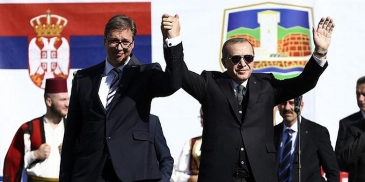 """""""Απόβαση"""" Ερντογάν με επιχειρηματίες στη Σερβία 24"""