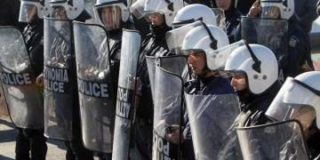 Προσφυγικό-Λέσβος: Ρίχνουν με πλαστικές σφαίρες κατά διαδηλωτών 1