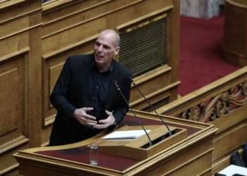 Συζήτηση για την κυβερνητική πολιτική, σχετικά με τα εργασιακά θέματα, στην Ολομέλεια της Βουλής, στην Αθήνα, στις 14 Φεβρουαρίου, 2020