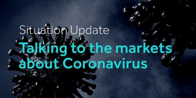 Coronavirus and markets