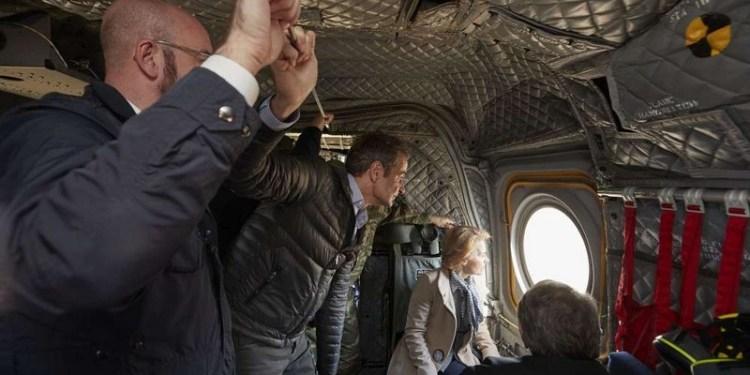 Κομισιόν: Video από την επίσκεψη των επικεφαλής της ΕΕ στον Έβρο 21