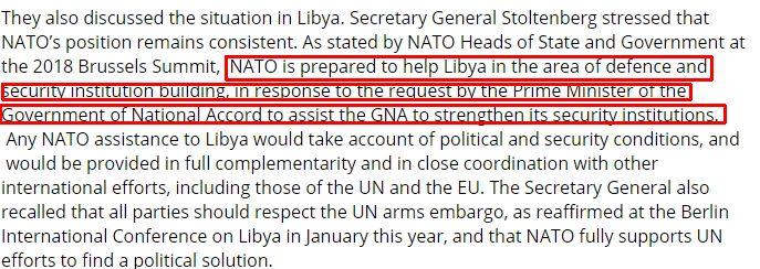 Επικοινωνία Στόλτενμπεργκ-Ερντογάν: Το NATO έτοιμο να στηρίξει Σάρατζ στη Λιβύη 25