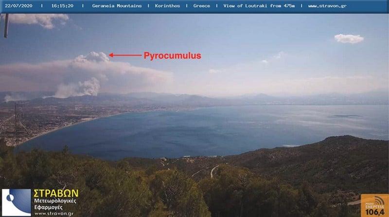 Πυρκαγιές σε Κεχριές και Πεταλίδι – Ενεργοποιήσεις του προγνωστικού συστήματος IRIS 27