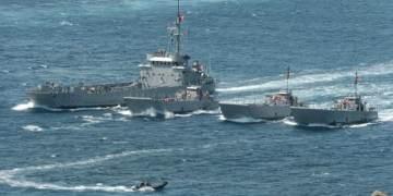 Άσκηση του τουρκικού στόλου