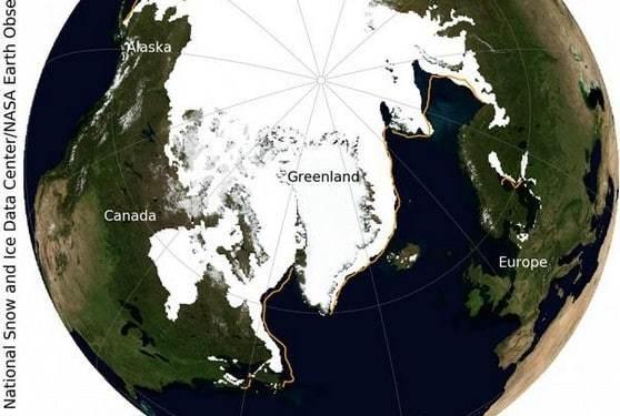 NASA: Η μέγιστη έκταση του θαλάσσιου πάγου της Αρκτικής για το 2021