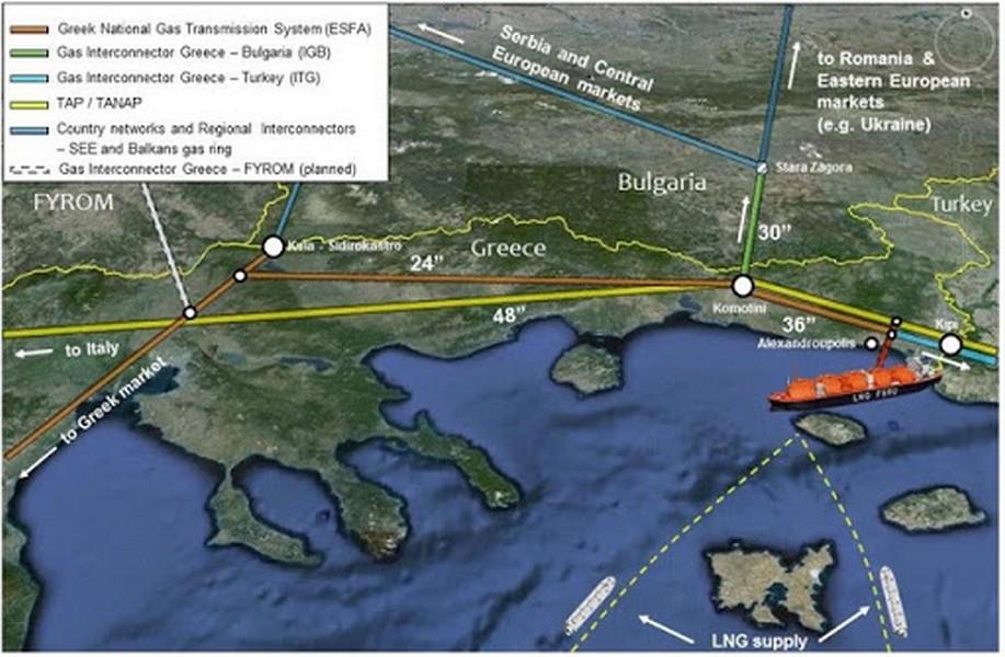 FSRU, LNG Termonal, Αλεξανδρούπολη