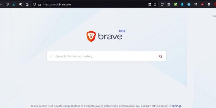 Μηχανή αναζήτησης Brave