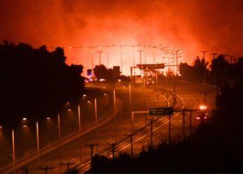 Φωτιά Άγιος Στέφανος