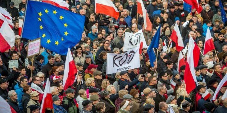 Διαδηλώσεις στην Πολωνία