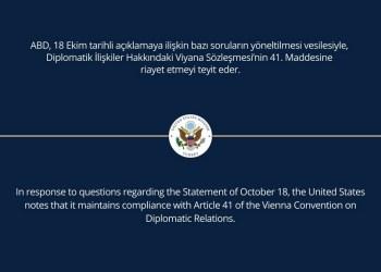 Σε αποκλιμάκωση οδηγείται η διπλωματική και πολιτική κρίση που προκάλεσε ο Ταγίπ Ερντογάν επ' αφορμής της κοινής διακήρυξης των 10 πρέσβεων,