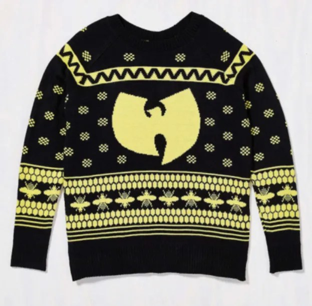 Wu Tang Clan Ugly Christmas Sweater Crisp Culture