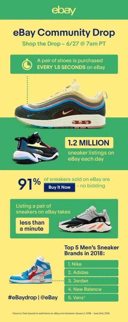 ebay sneaker drop