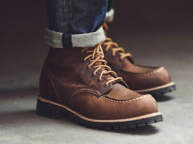 Red Wing Boots Frugal Male Fashion