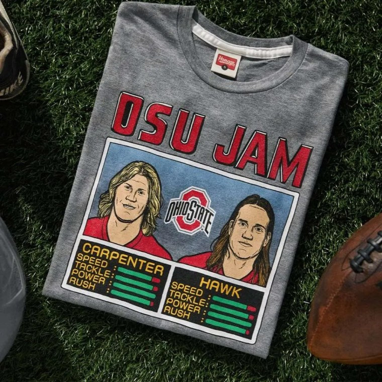homage ohio state shirt