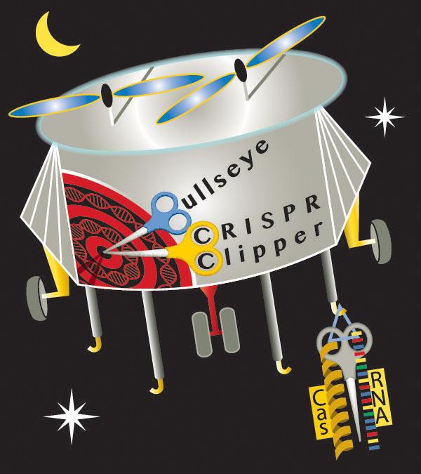 CRISPR Clipper Drone