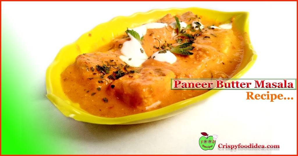 Restaurants Style Paneer butter Masala Recipe