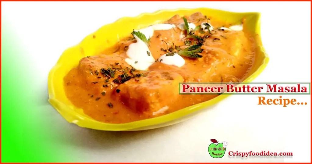 Restaurants Style Paneer butter Masala Recipe