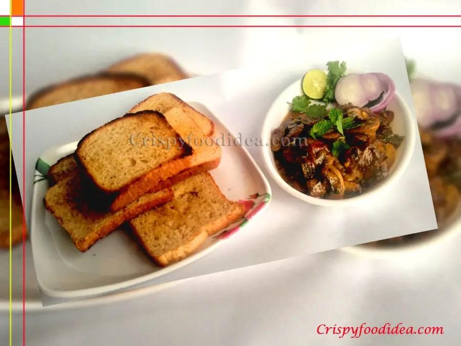 Mushroom Recipe Dry | Mushroom Fry Recipe