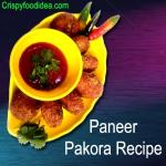 Paneer Pakora Recipe   Paneer Pakoda