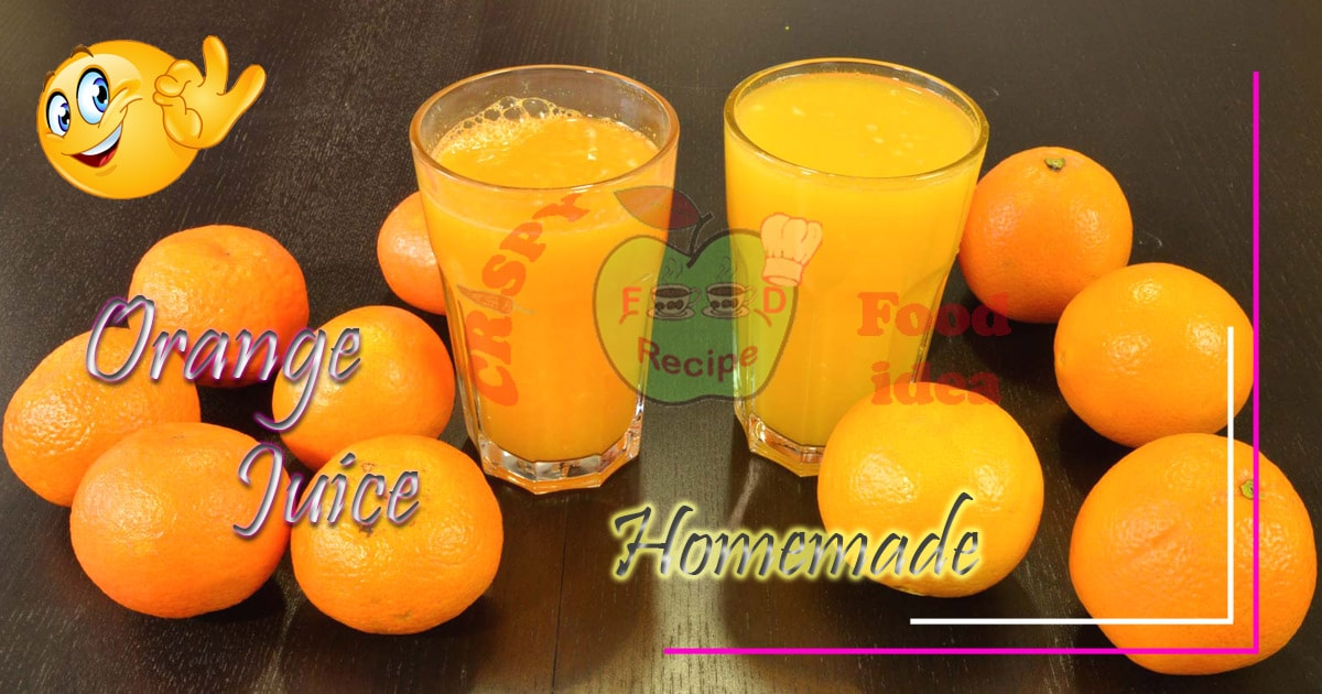orange juice homemade