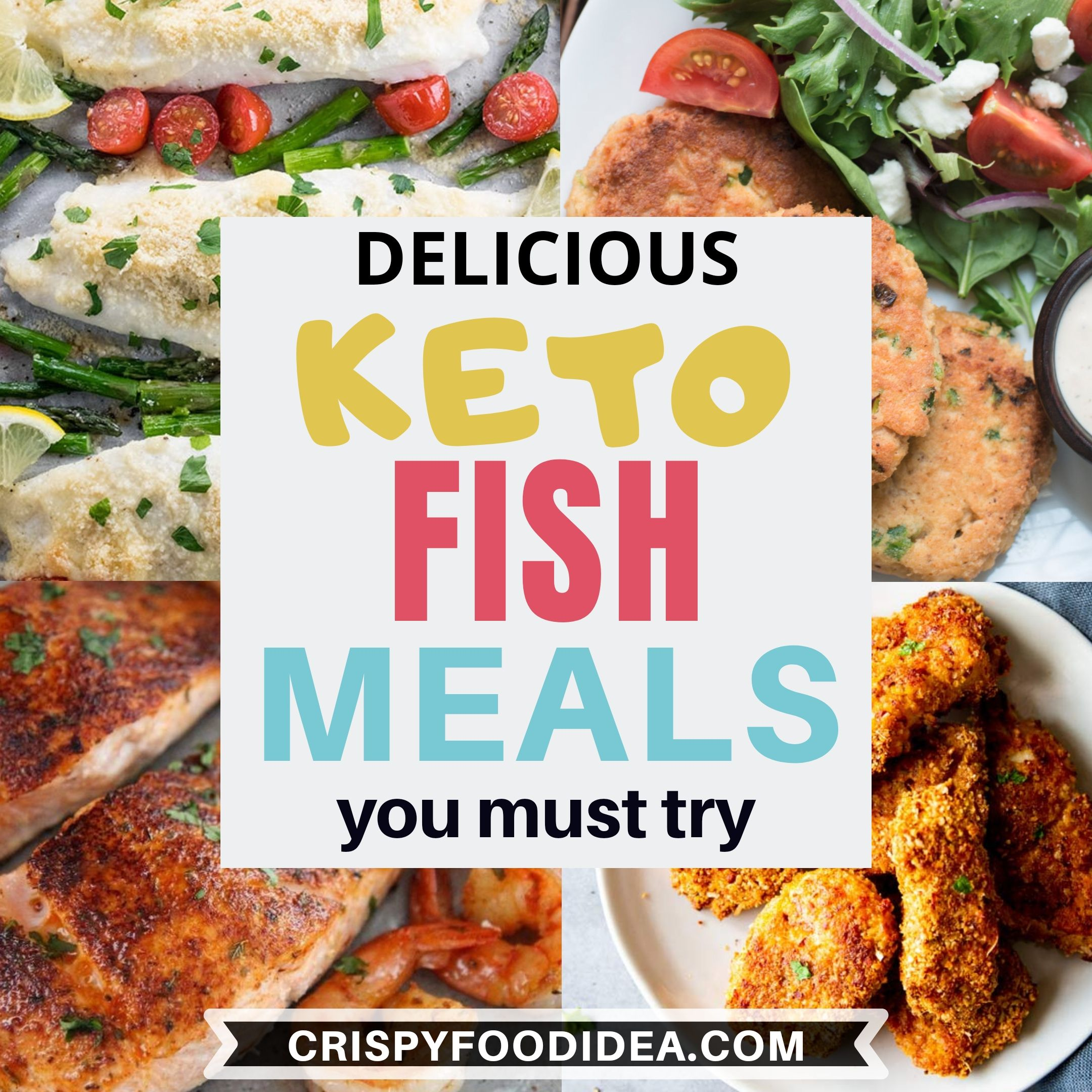 Keto Fish Meals