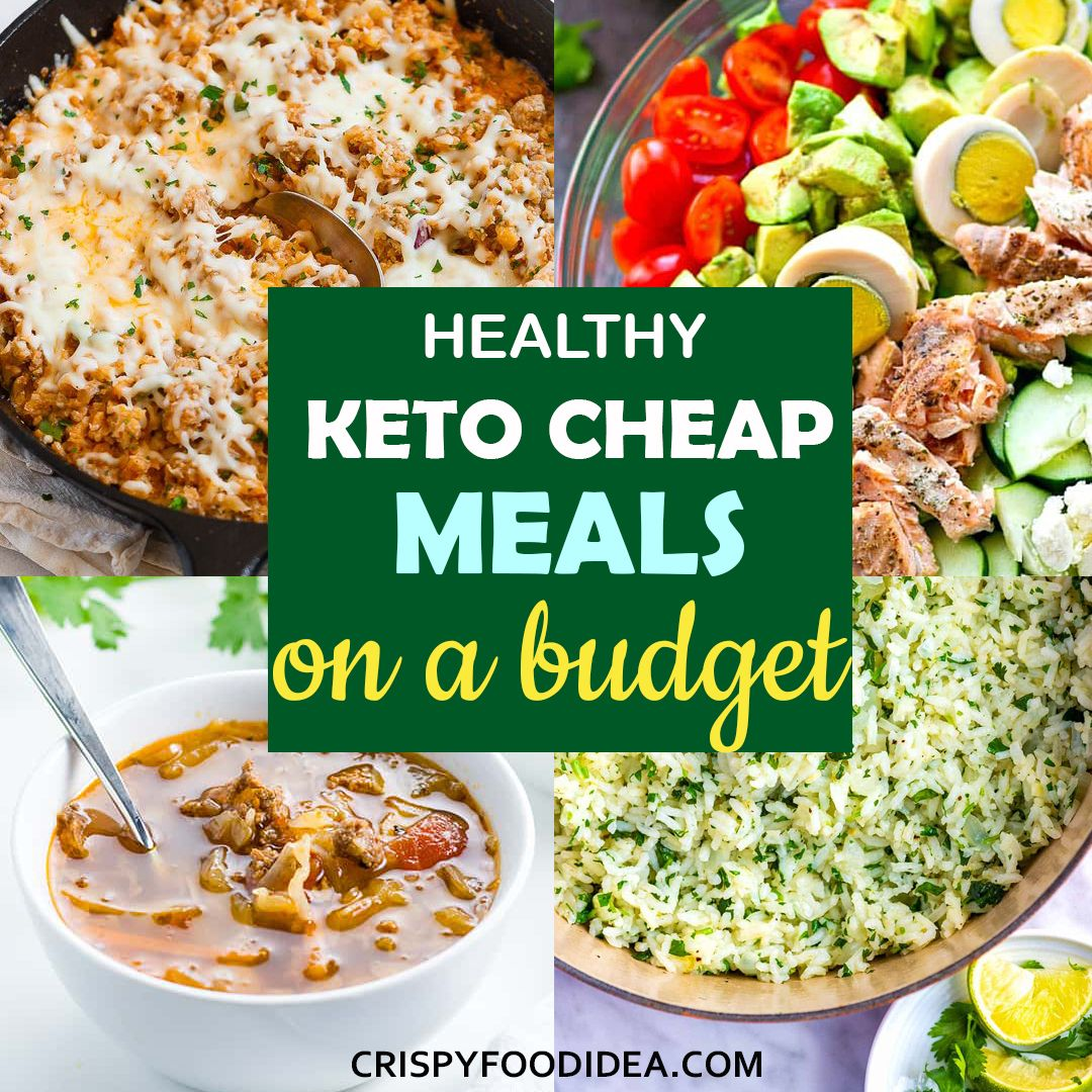 Cheap Keto Meals