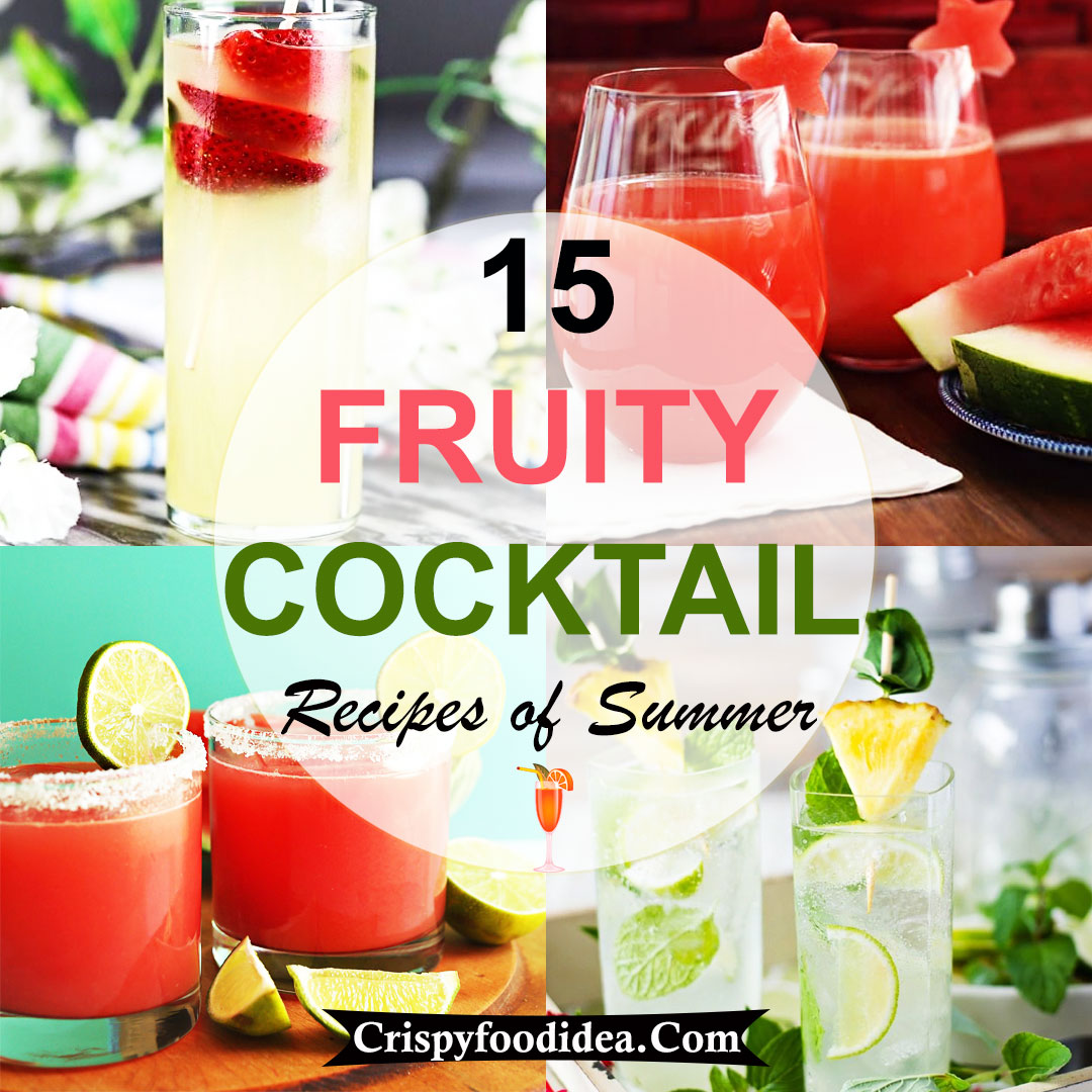 Fruity Cocktail Recipes for Summer