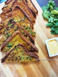 Masala Egg toast | Spicy Bread Toast