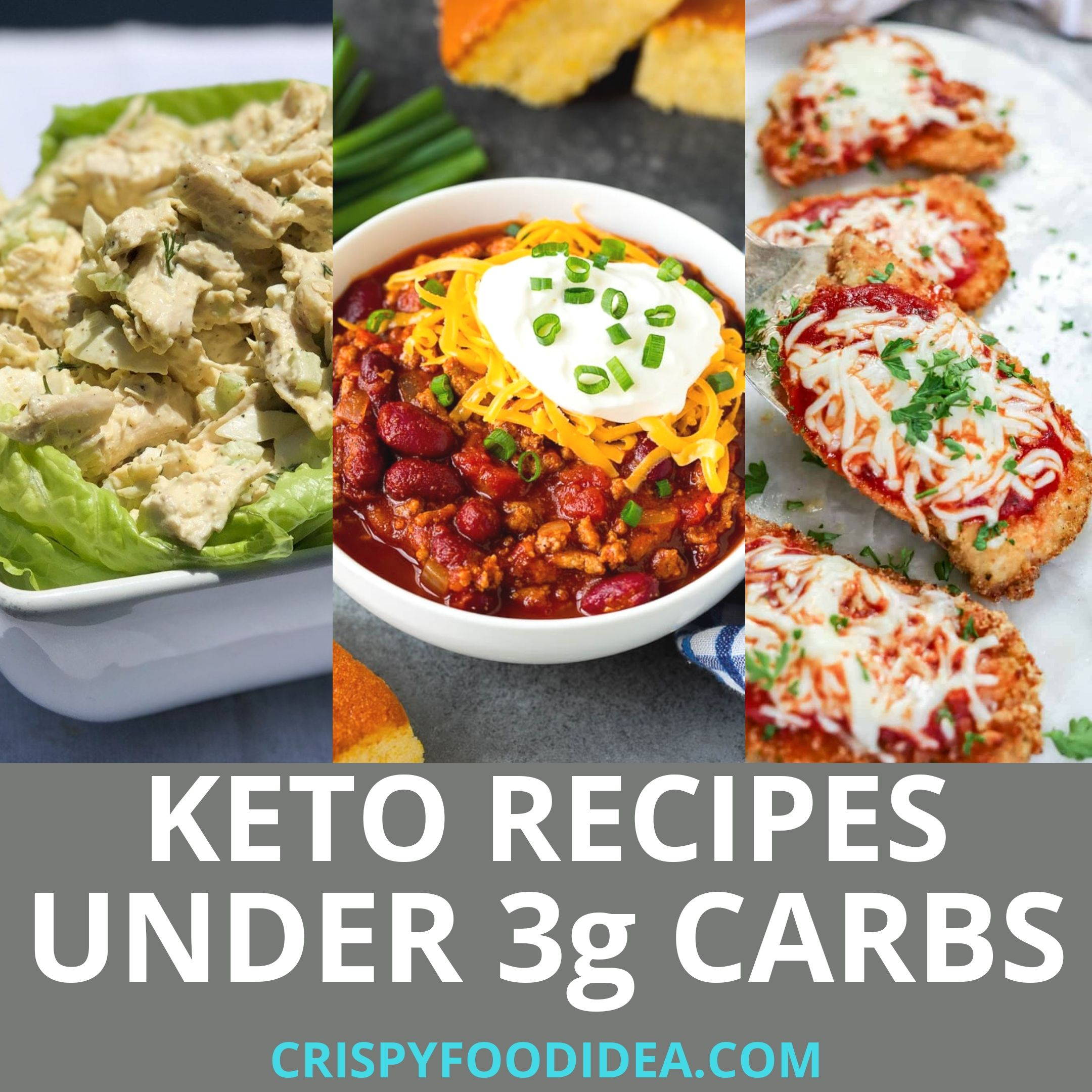 Keto Recipes Under 3 Carbs