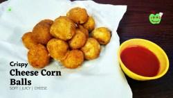 Cheese Corn Balls | Corn Cheese Balls