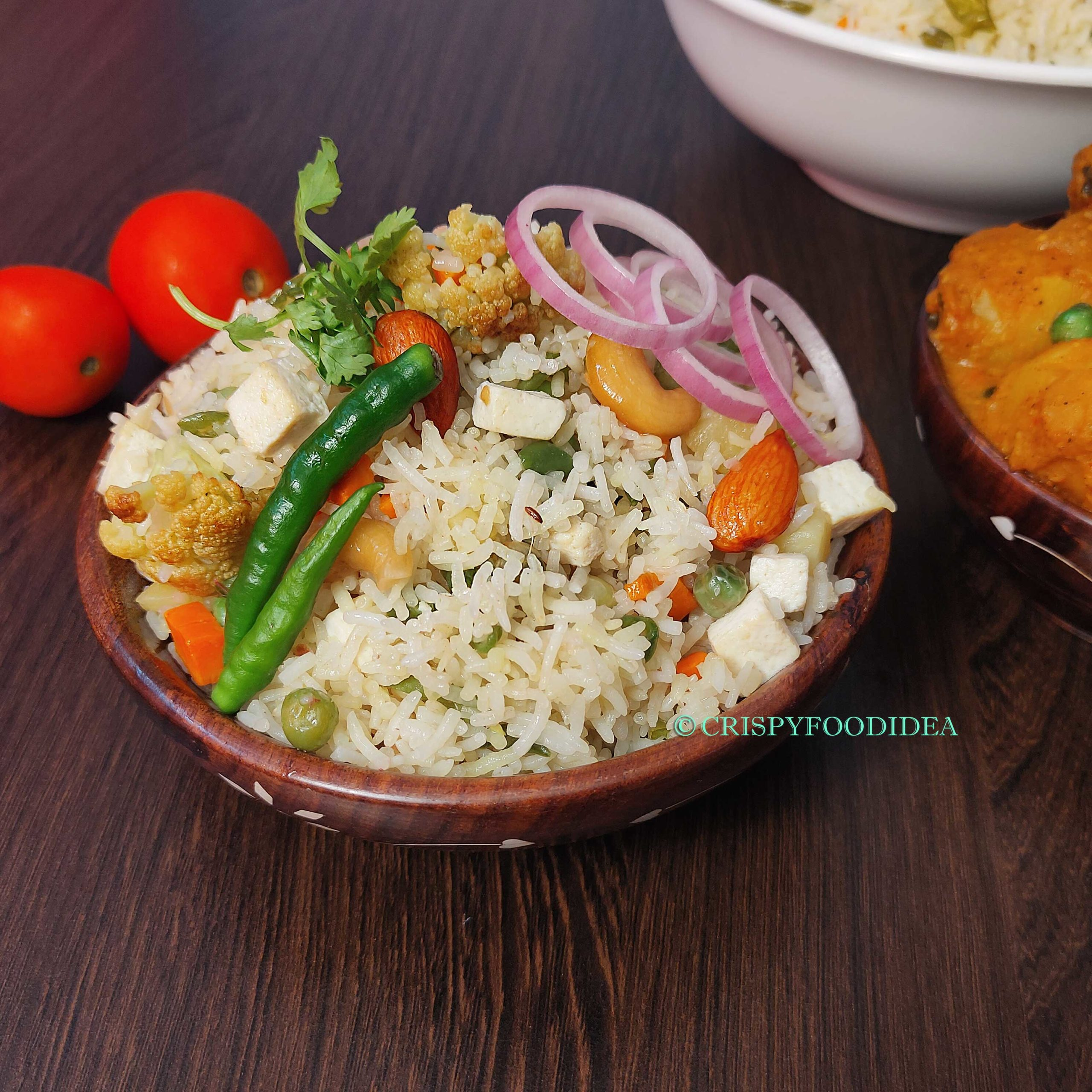 Navratan Pulao Recipe | Vegetable Rice