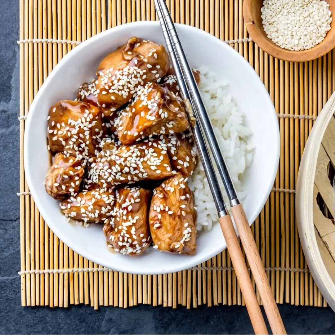 Crockpot Teriyaki Chicken | Slow Cooker Teriyaki Chicken Recipe