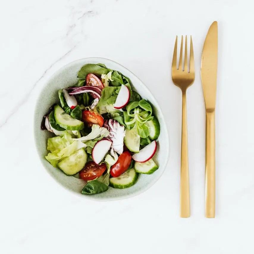 delicious vegetable salad | Elder Vegans