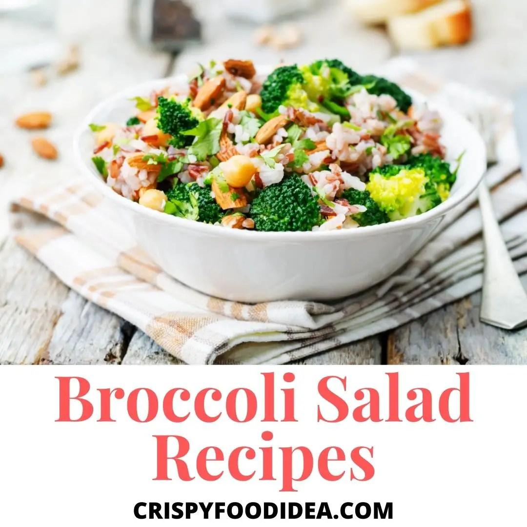broccoli salad recipes