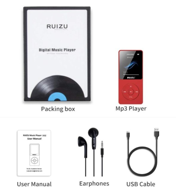 Multi-Functional MP3 Player