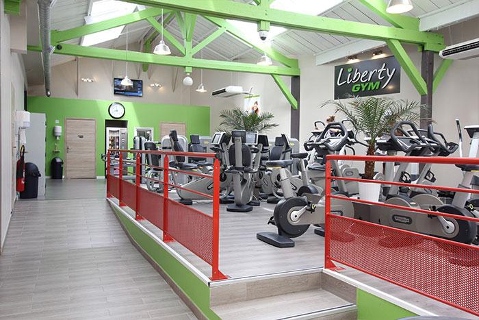Climatisation salle de sport Liberty Gym Paris Bercy