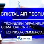 Recrutement - offre d'emploi climatisation 77