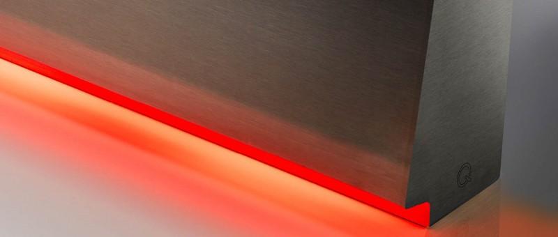 slider banner linear light cladding