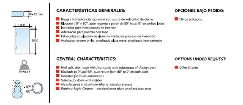 Hidrobi CaracterísticasZ