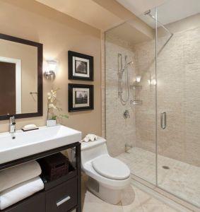 Mampara baño pequeño