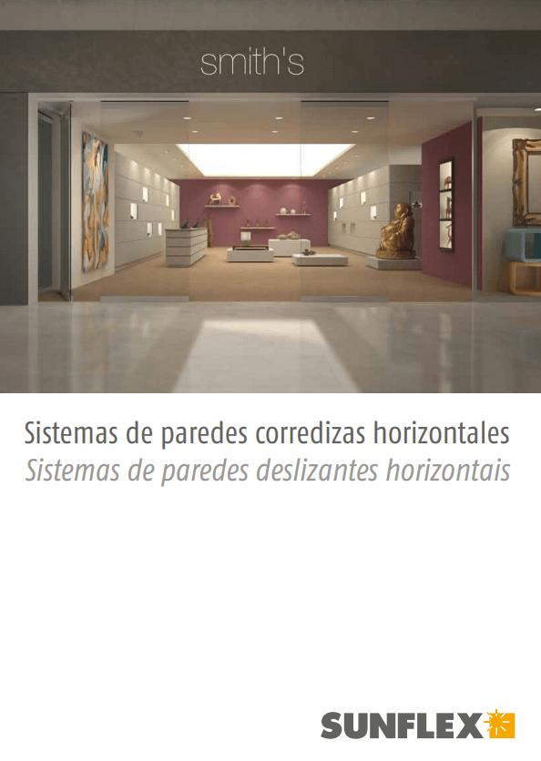 Catálogo sistema de paredes correrizas